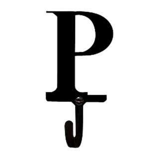 Small Letter 'P' Wall Hook