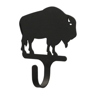 Buffalo Black Wrought Iron Magnetic Hook