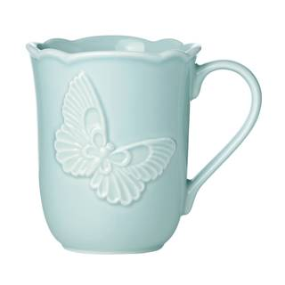 Lenox Butterfly Meadow Blue Carved Mug