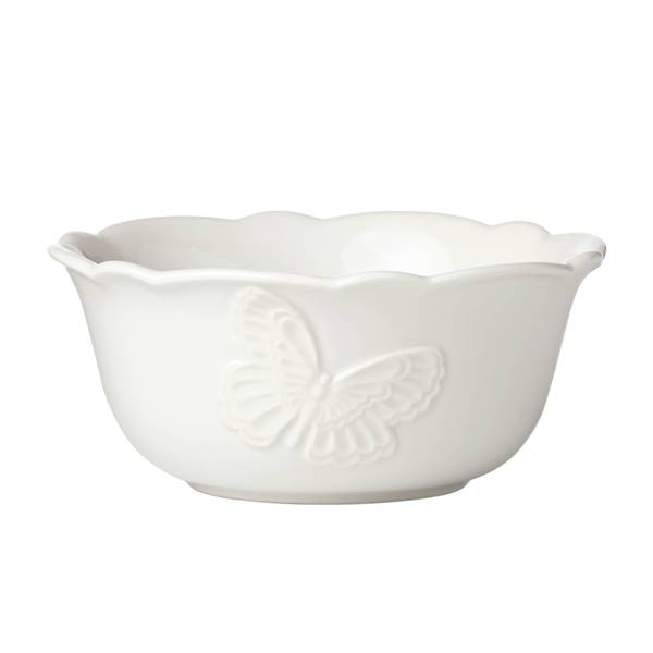 Shop Lenox Butterfly Meadow White Stoneware All Purpose