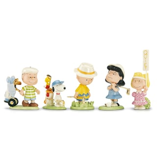 Lenox Peanuts Golf 5-Piece Figurine Set