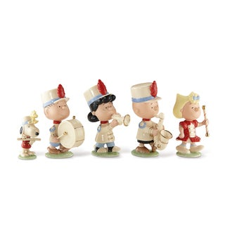 Lenox Peanuts Marching Band China Figurine Set (Pack of 5)