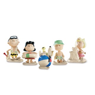 Lenox Peanuts Beach Party Figurines (Set of 5)
