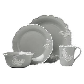 Lenox Butterfly Meadow Carved Slate 4-piece Place Setting