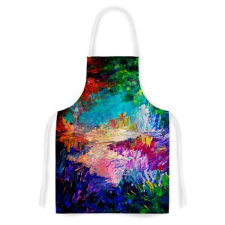 Kess InHouse Ebi Emporium 'Welcome to Utopia' Rainbow Artistic Apron