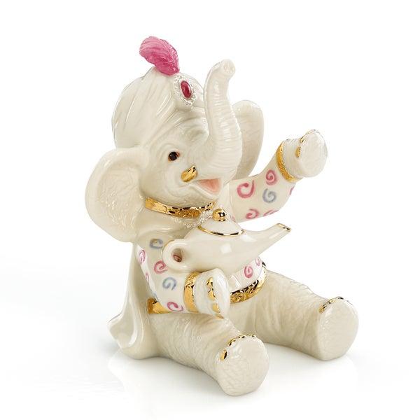 Lenox Wishing for Peanuts Porcelain Elephant Figurine