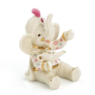 Lenox Wishing for Peanuts Porcelain Elephant Figurine