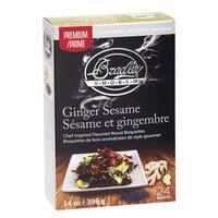 Bradley Ginger Sesame Premium Bisquettes (Case of 24)
