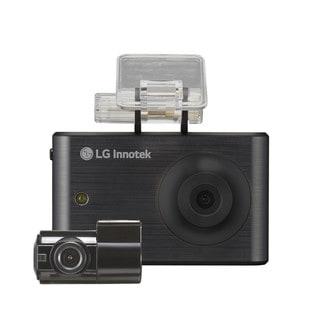 LG Innotek Black 3.5-inch 720p Touchscreen Dashcam, Front and Rear Camera (RNEK-MN31B), 32GB storage
