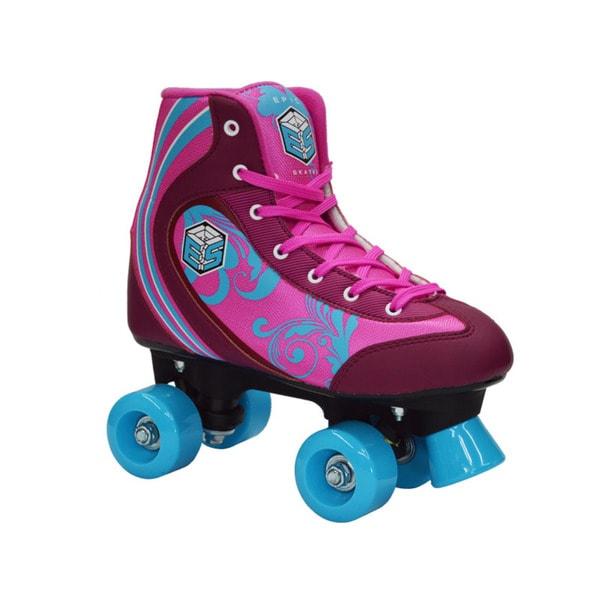 Epic Cotton Candy Girls Quad Speed Roller Skates