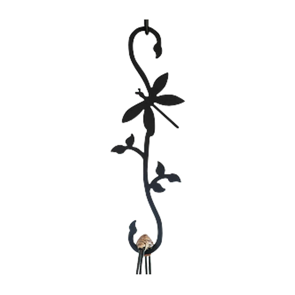 Black Wrought Iron Dragon Fly S-shaped Hook (Dragonfly - ...