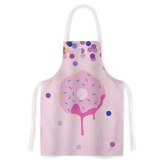 Kess Original 'Sprinkles' Pink Food Artistic Apron