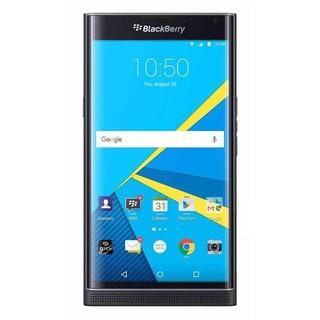 BlackBerry PRIV STV100-1 - Black w/ Rapid Charger & PRIV Smart Flip Cover - Black (Refurbished)