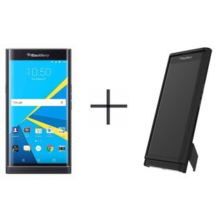 BlackBerry PRIV STV100-1 Unlocked GSM Phone - Black with Slideout Case - Black (Refurbished)