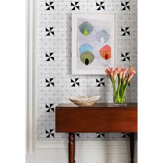 2-inch Single Windmill Pattern Matte Porcelain Mosaic Tile