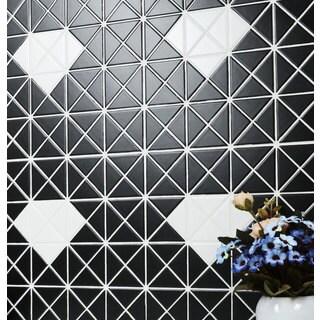 2-inch Single Diamond Pattern Matte Porcelain Mosaic Tile (10 Sheets per Carton)