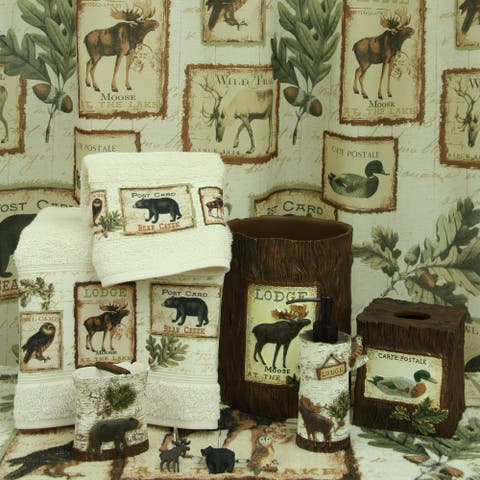 Lodge Memories Bath Accesoories by Bacova Guild