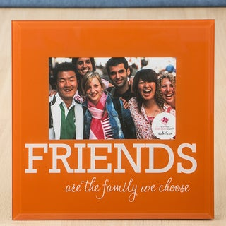 Orange Glass FRIENDS frame