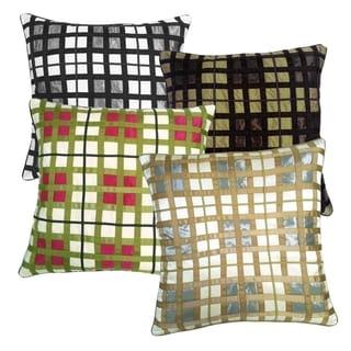 Belgravia Multicolored Plaid 20-inch Throw Pillow