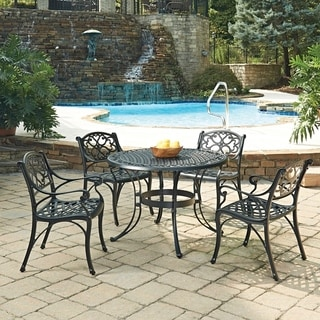 Biscayne Black 5-piece Dining Set by Home Styles