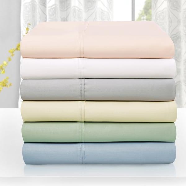 Superior 600 Thread Count Tencel Blend Pillowcase Set (Set of 2)