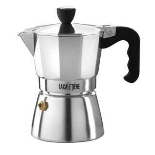 La Cafetiere Classic Aluminum 3-Cup Espresso Coffee Maker
