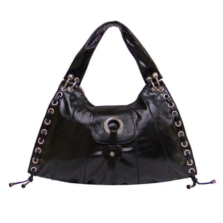 Donna Bella Designs Rubi Faux Leather Shoulder Bag