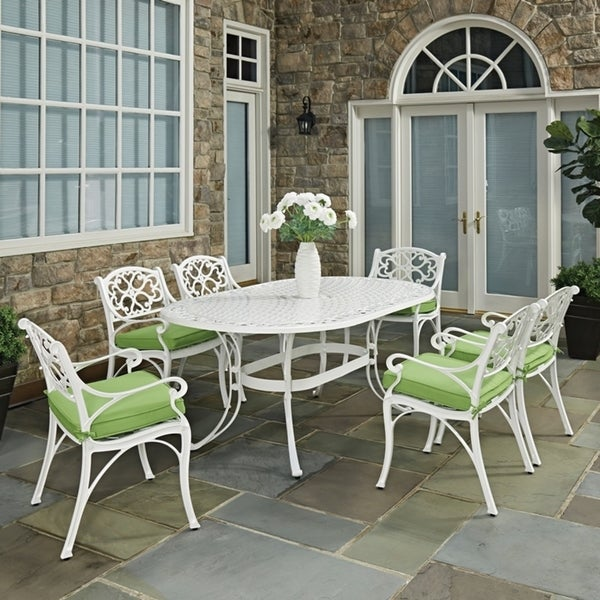 Shop Biscayne 7PC Dining Set 72 Oval Table With Six