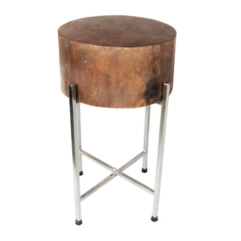 STELLA Slim Mango Wood Accent Table