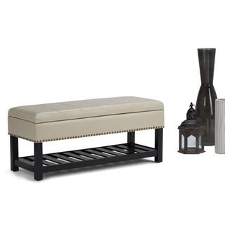 WYNDENHALL Nathan Storage Ottoman Bench