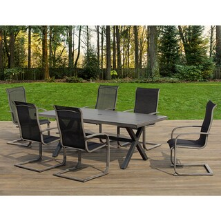OVE Decors Mulholland Outdoor 7 Piece Dining Set
