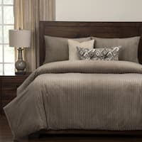 Siscovers Downy Taupe Super Soft 6 Piece Luxury Duvet Set
