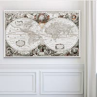 Treasue Map - Premium Gallery Wrapped Canvas