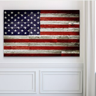 American Flag II - Premium Gallery Wrapped Canvas