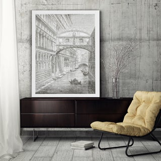 Vintage Venitian Stencil II - Premium Gallery Wrapped Canvas