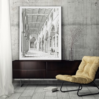 Vintage Venitian Stencil I - Premium Gallery Wrapped Canvas