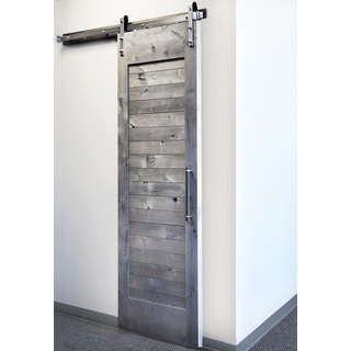 Sure Loc Satin Nickel Barn Door Hardware
