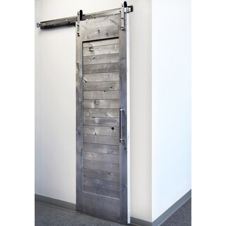 Sure-Loc Satin Nickel Barn Door Hardware