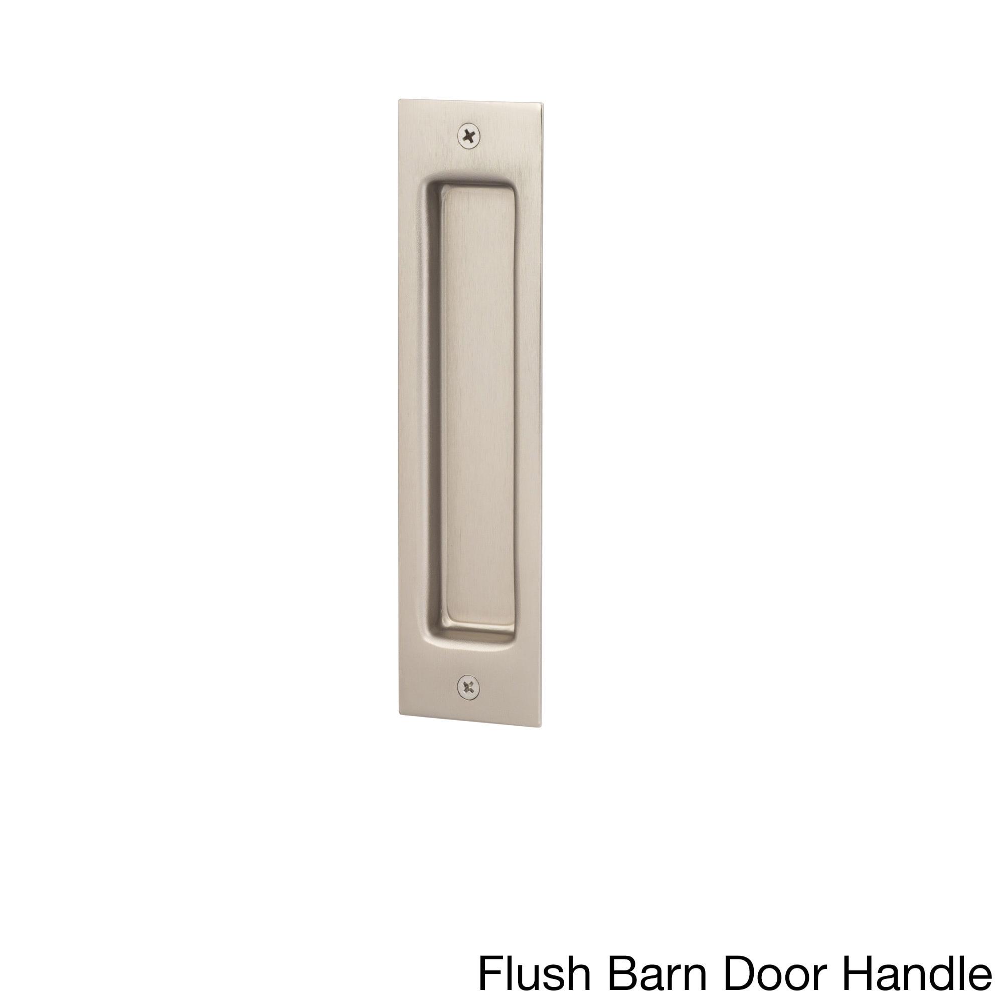 Shop Sure Loc Satin Nickel Barn Door Hardware Kit Overstock 14490930