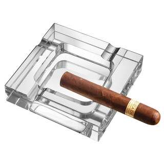Visol Callisto Square Crystal Cigar Ashtray