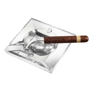 Visol Kratos Square Crystal Cigar Ashtray