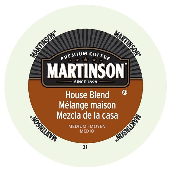 Martinson Coffee House Blend RealCup Portion Pack for Keurig K-Cup Brewers