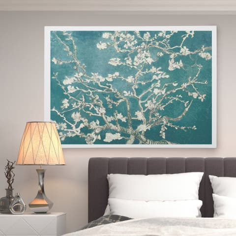 Almond Blossom White Shadows II - Premium Gallery Wrapped Canvas