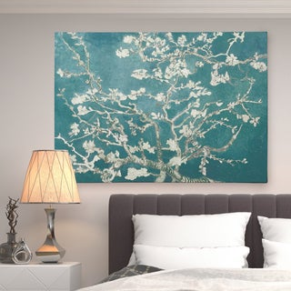 Almond Blossom White Shadows I - Premium Gallery Wrapped Canvas