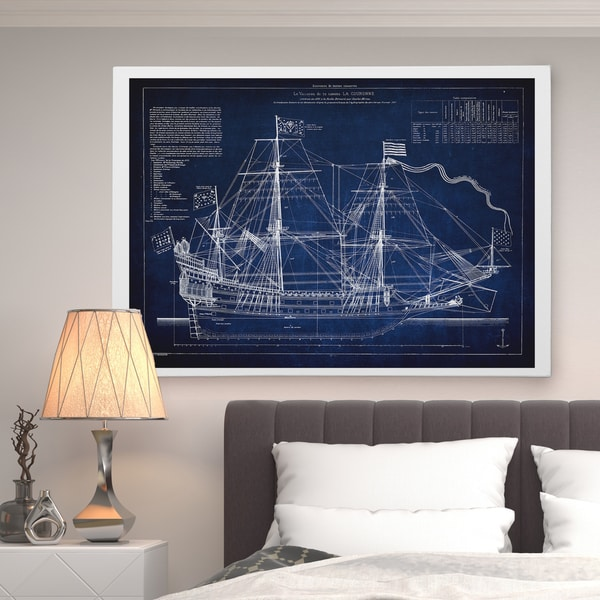 Ship Cross Section - Premium Gallery Wrapped Canvas