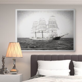 Vintage Sailing Ship I - Premium Gallery Wrapped Canvas