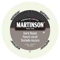 Martinson Coffee Dark Roast RealCup Portion Pack for Keurig K-Cup Brewers