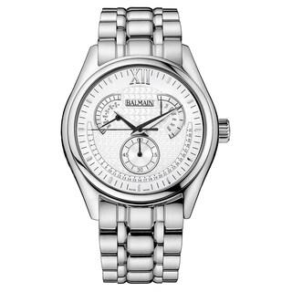 Balmain Balman Men's Stainless Steel B72813322 Silver Dial Watch