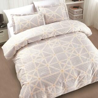 Della Grey 3-piece Cotton Comforter Set