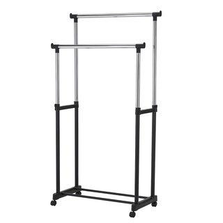 Adjustable Double Garment Rack